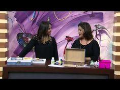Mulher.com 23/05/2014 - Caixa Margarida MDF por Marisa Parte 2 - YouTube
