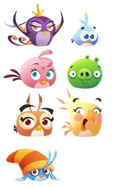Angry Birds Stella POP! on Behance