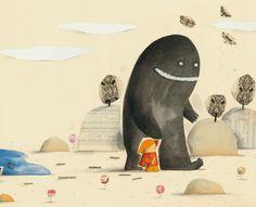 Ogre, cacatoes et chocolat. Editions Belin | Barroux