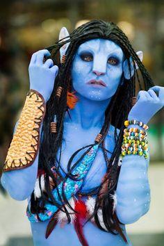 Amazing Avatar! #halloween #costume #avatar