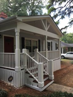 Perfect Front Porch Designed And Built By Archadeck Of Charlotte In Myers Park