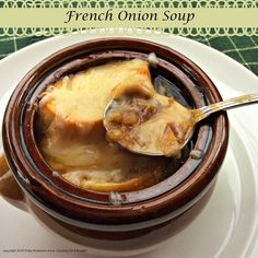 French Onion Soup. Easy, delicious, hearty.