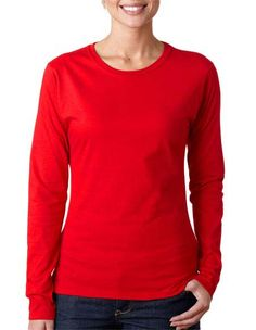 06591d2fe4cce Gildan 64400L Women s Softstyle Long-Sleeve T-Shirt for  8.75