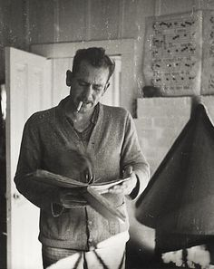 """Tips on Writing from John Steinbeck.  """"Abandon the idea that you are ever going to finish. Lose track of the 400 pages and write just one page for each day, it helps. Then when it gets finished, you are always surprised."""""""