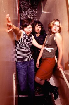 """Celebrate """"Riot Grrrl Day"""" with our Grrrl-Ruled Playlist - AfterEllen Riot Girrl, Carrie Brownstein, Angry Girl, Music Is My Escape, Women In Music, Thing 1, Destiny's Child, Badass Women, Spice Girls"""