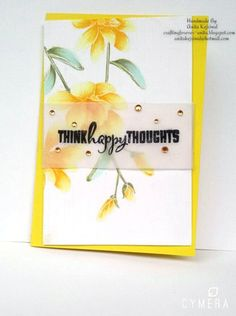 The sentiment is perfect, for this is such a happy card! We love the arrangement of flowers and the beautiful way they were colored. www.altenew.com