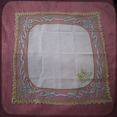 Stunning Antique Wedding Bridal french Square by UnPetitChateau, $150.00