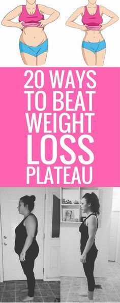 20 ways to beat weight loss plateau - and boost your metabolism at the same…