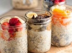 Look forward to breakfast with Overnight Oats. Easy instructions and five ideas to shake up your breakfast routine.