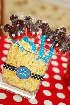 """IDEA! I'm going to have a """"Two""""dles birthday party for Nisia! :-D"""