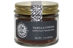 Powerful, beautifully fragrant powder made from the whole vanilla pod.     Maui Vanilla Beans are grown and cured on the Valley Isle in Hawaii. Maui Preserved's beans have a high moisture content and are some of the only beans grown in the United States. Vanilla beans in their most natural state are high in antioxidants and have a richer less acidic taste than vanilla extract. Vanilla is not in itself a sweetener, but it lends a sweet quality to anything it's added to...