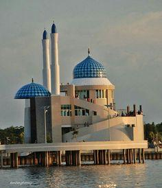 An incredible masjid in Indonesia.