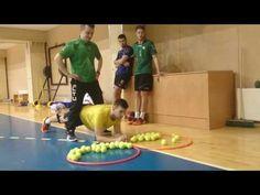 Vikrumo treniruotė / Handball training - YouTube