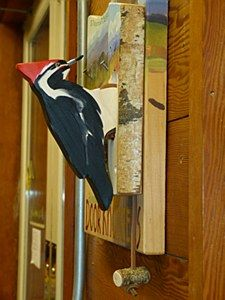 Pileated Woodpecker Door Knocker