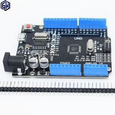 One set TENSTAR ROBOT New 2017 - UNO R3 for Arduino ATmega328P/CH340G MicroUSB. UNO Rev 3.0 (hei)  Price: 3.84 USD