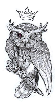 フクロウ 王冠 - Google 検索