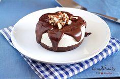 Decadent Brownie Ice Cream Cake (Grain Free, Gluten Free, Dairy Free, Paleo)