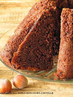 Arnikowa kuchnia: BABKA ORZECHOWA Z NUTELLĄ pyszna i cudownie pachnąca