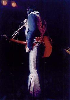 December 13, 1975, Elvis Presley - -midnight show Las Vegas Hilton