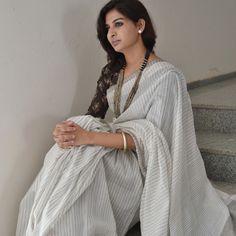 Shopo | Product from PENCILDOTS Shop | Handwoven Silk-Cotton sarees PSD 03