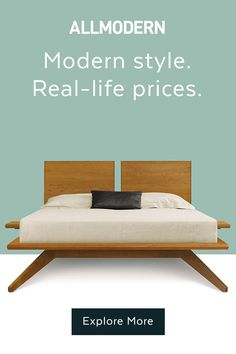 Shop AllModern for up to 65% off modern styles and free shipping. AllModern makes it simple to find the bed comforter of your dreams – and a headboard, bed, and decor to go along with it. Sign up for AllModern emails to get inspiration and decorating ideas for your bedroom makeover, and shop AllModern.com to discover the best mattress and down comforter for your sleep style. Want a calm, relaxing space? Try a minimalist bedroom style in a neutral color scheme, like grey or white.