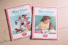 Poligöm / Livres Martine - A la mer 1956 et A la maison 1963