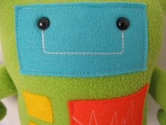 Cute Robot Stuffed toys!