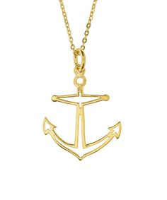 Our Anchor charm is the perfect nautical touch for your day at sea (or dry land). Warm sun, good vibes, the sound of the waves and salty air...can't you just feel the sand between your toes? Satisfy y