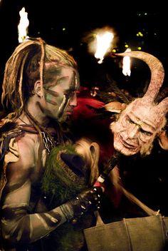Beltane masks..