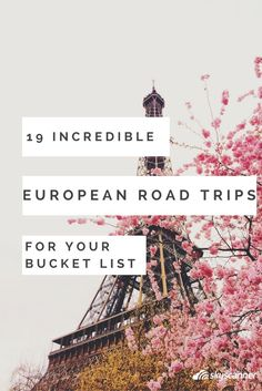 From Germany to Italy, Europe has many incredible road trips to take the American tradition to the old country.