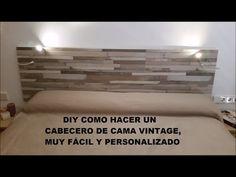 Tutorial de Como construir una Cabecera flotante minimalista con luz en la parte de atras - YouTube