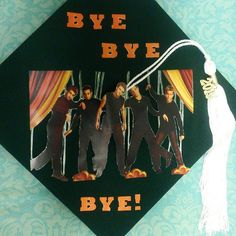 Pin for Later: 35 Hilarious Graduation Cap Ideas That Will Make You Stand Out in the Crowd