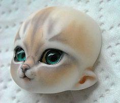 puki puki bjd dolls | ... Tags: dolls kitty faceplate bjd resin fairyland puki faceups pukisha