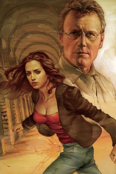 Faith & Giles by Jo Chen - Buffy: Season 8 #24