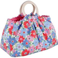 Cath Kidston bag - perfect for knitting/crochet projects