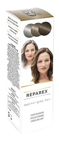 Gray Hair Treatment Formula for Women  Natural Hair Color Restoration and Hair Repair by Reparex Get Rid of Gray Hair  Better than Hair Dye AntiGray Hair Solution Safe Easy to Use  Apply >>> Be sure to check out this awesome product.Note:It is affiliate link to Amazon.