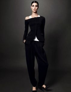 Manon Leloup photographed by Jason Kibbler | Vogue Spain | December 2013