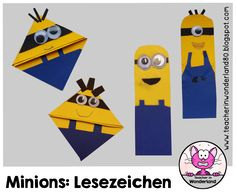 Teacher In Wonderland: Minions-Lesezeichen: 2 Varianten                                                                                                                                                                                 Mehr