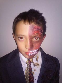Two-Face costume | Costume Ideas | Pinterest | Costumes, Face and ...
