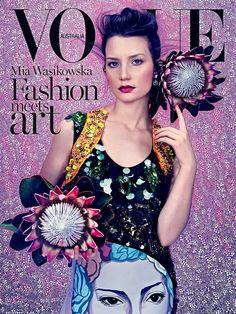 Mia Wasikowska by Emma Summerton for Vogue Australia March 2014