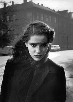Ferdinando Scianna - Budapest. 1990. Fashion story.