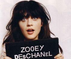 zooey deschanel, i like her