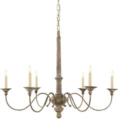 SMALL COUNTRY CHANDELIER, over island?    Either at Dining Room or Over Island
