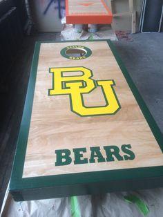 Baylor University Cornhole Game