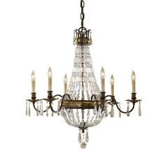 Found it at Wayfair.co.uk - Bellini 6 Light Candle Chandelier