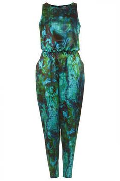 **Tie Dye Jumpsuit by Love at Topshop Mirror Image, Give It To Me, Tie Dye, Topshop, Sexy, Jumpsuits, Clothes, Shopping, Dresses