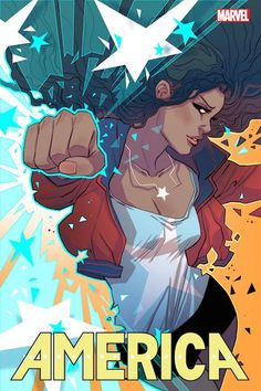We've got the goods on America Chavez, Marvel's latest genre-busting superhero to get her own series.