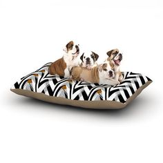 Modern Dog Beds from KESS InHouse - Dog Milk