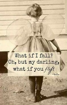Believe you will fly!