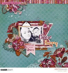 You'll love creating inspirational creative crafts with the Bombay Sunset Collection 12 Baby Scrapbook, Scrapbook Pages, Picture Layouts, General Crafts, Craft Items, Creative Crafts, Scrapbooking Layouts, Paper Art, Projects To Try
